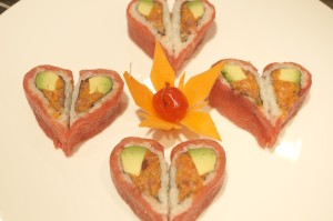 Sweet valentine roll